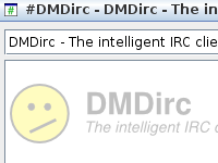 DMDirc logo as background in a channel